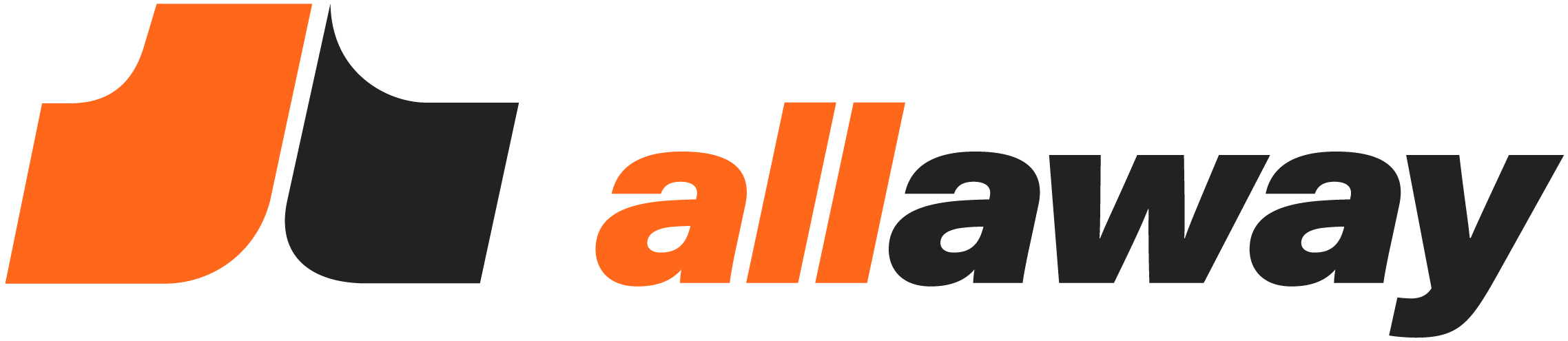 allaway logo with text